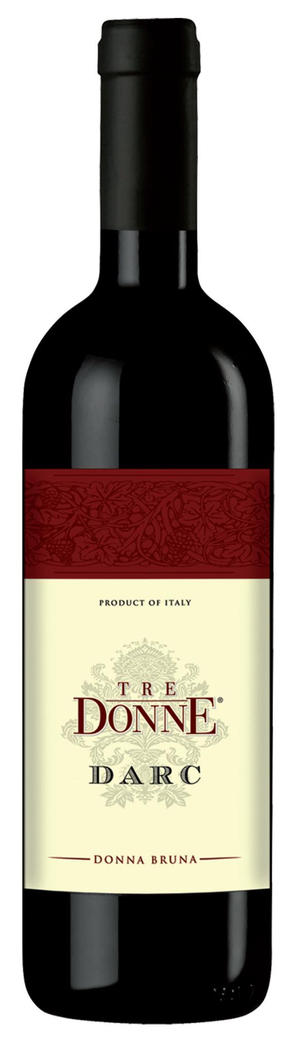 TRE DONNE DARC - Vino Rosso - Donna Bruna