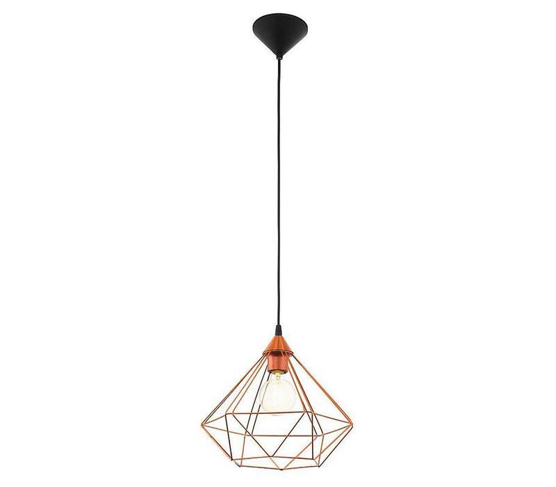 Hanglamp Tarbes koper groot