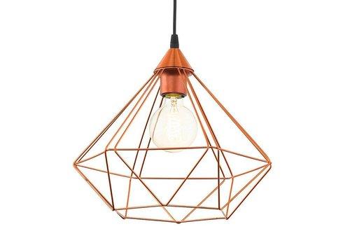 Eglo Hanglamp Tarbes koper groot