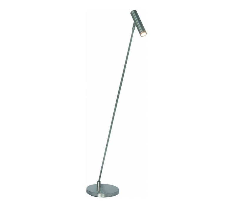 Vloerlamp Arletta LED mat chroom