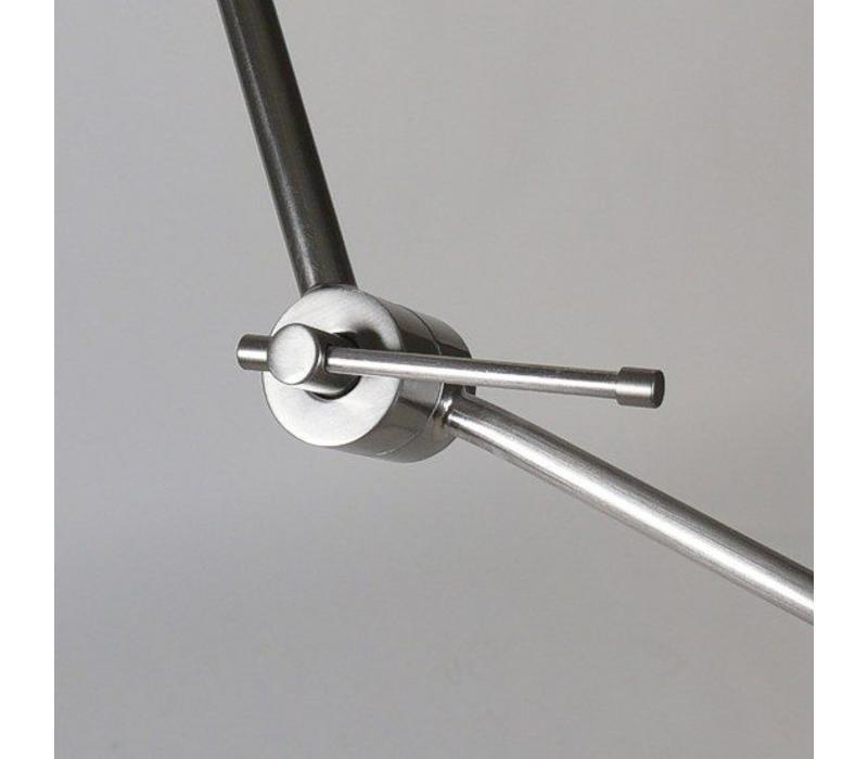Hanglamp Knik mat-chroom