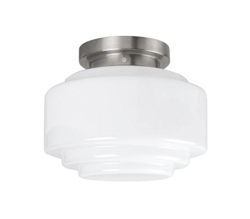Plafondlamp Deco Cambridge Ø 24 cm wit