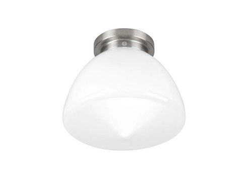 Highlight Plafondlamp Deco Glasgow Ø 24 cm wit