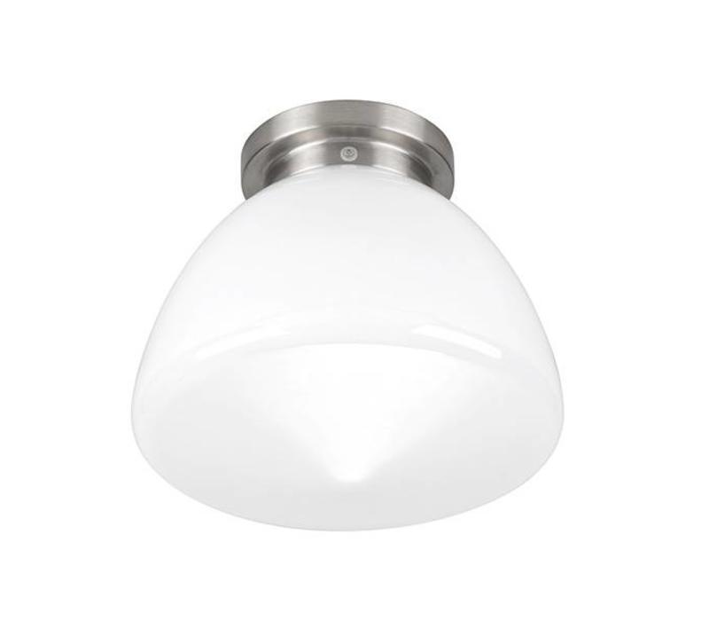 Plafondlamp Deco Glasgow Ø 24 cm wit