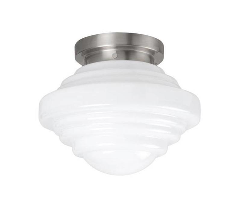 Plafondlamp Deco York Ø 24 cm wit