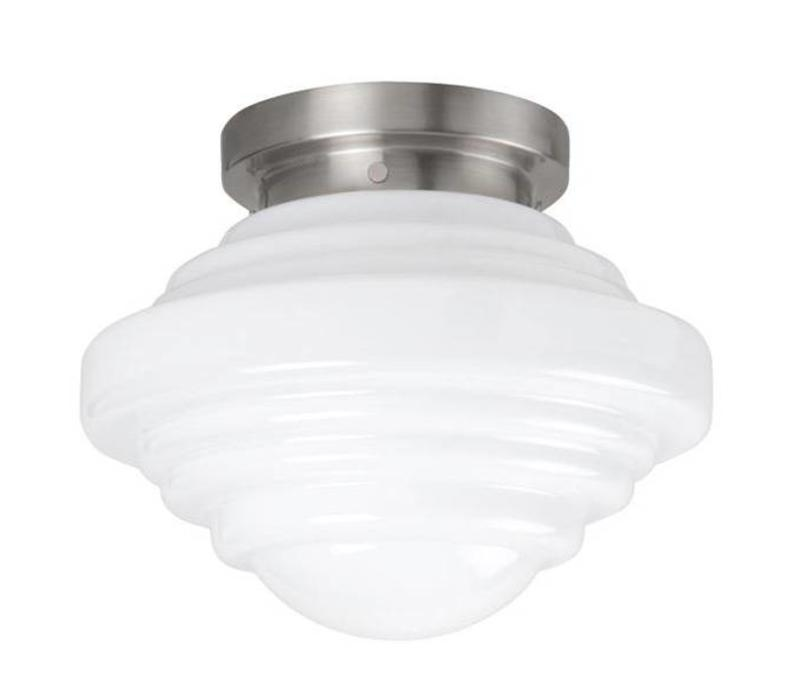 Plafondlamp Deco York Ø 29 cm wit