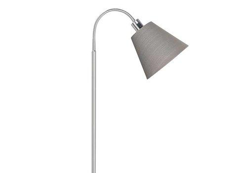 Highlight Vloerlamp Texas grijs 1 lichts