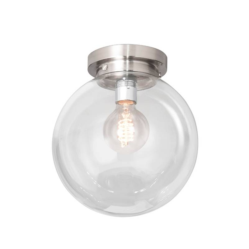 Highlight Plafondlamp Deco Globe Ø 25 Cm Helder