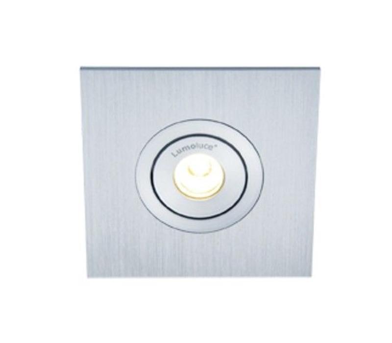 Inbouwspot Luzern LED vierkant