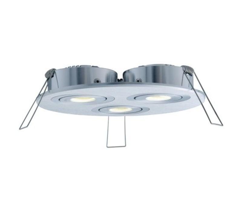 Inbouwspot Luzern LED rond 3 lichts
