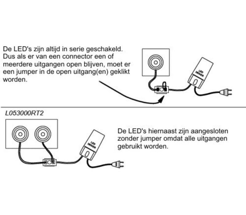 LED Driver dimbaar 2-4 spots