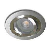 Inbouwspot Brescia rond aluminium