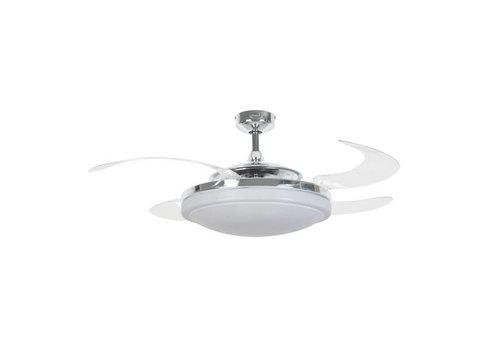 Masterlight Plafondventilator Fanaway Evo 2 Chroom