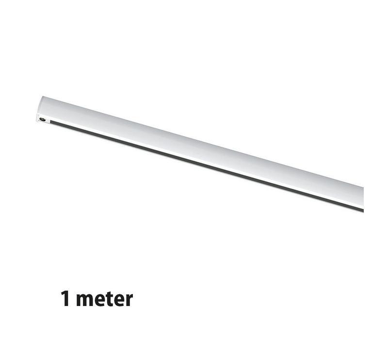 Rails 1 meter wit