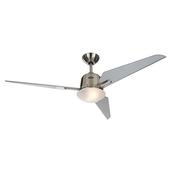 Lamponline Plafondventilator Fly mat-chroom Diverse verlichting