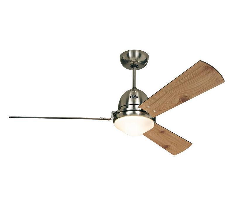 Plafondventilator Chardon mat-chroom