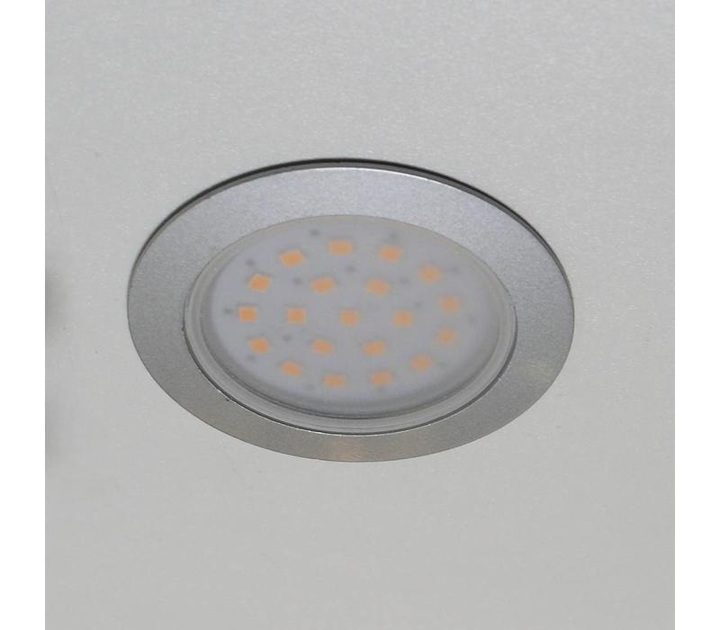 Inbouwspot Belfast LED cabinet grijs