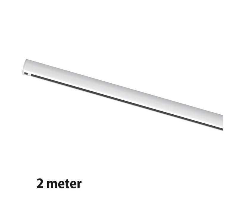 Rails 2 meter wit