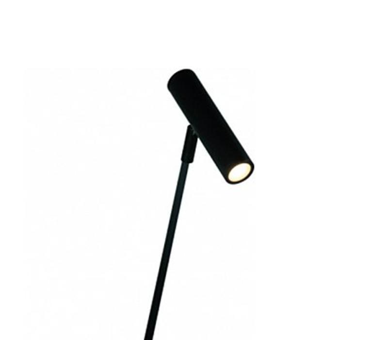 Vloerlamp Arletta LED zwart