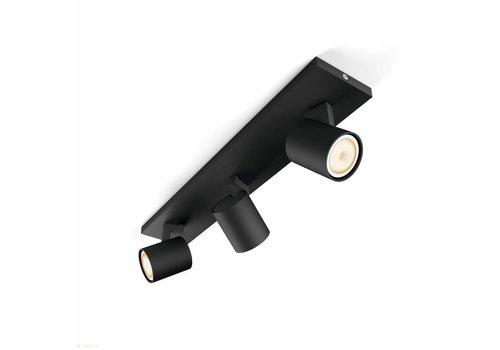 Philips Spot HUE Runner 3 lichts zwart