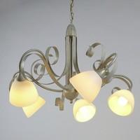 Hanglamp ViaDese 5 lichts ivory