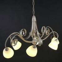 Hanglamp ViaDese 6 lichts ivory