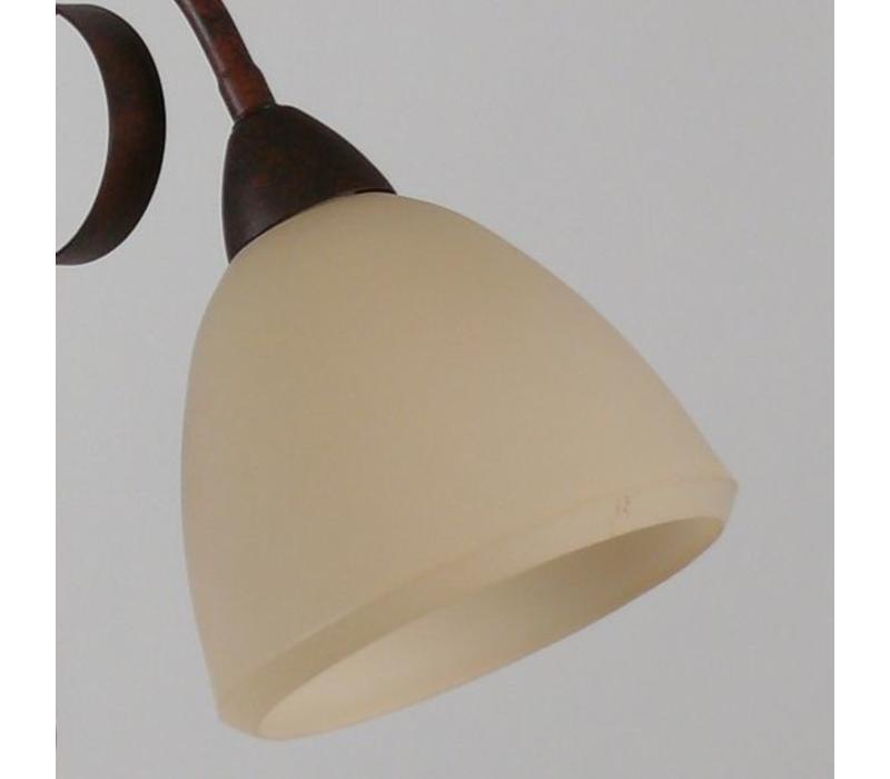 Hanglamp ViaDese 6 lichts rusty