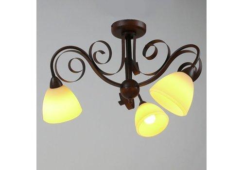 LAM Plafondlamp ViaDese rusty