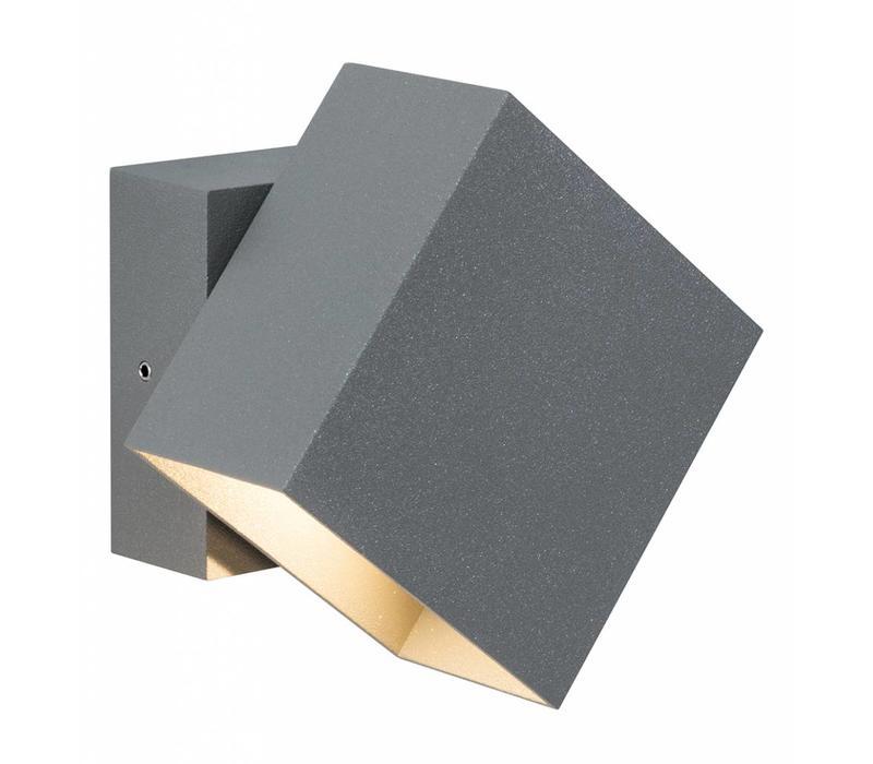 Buitenlamp Cybo LED grijs
