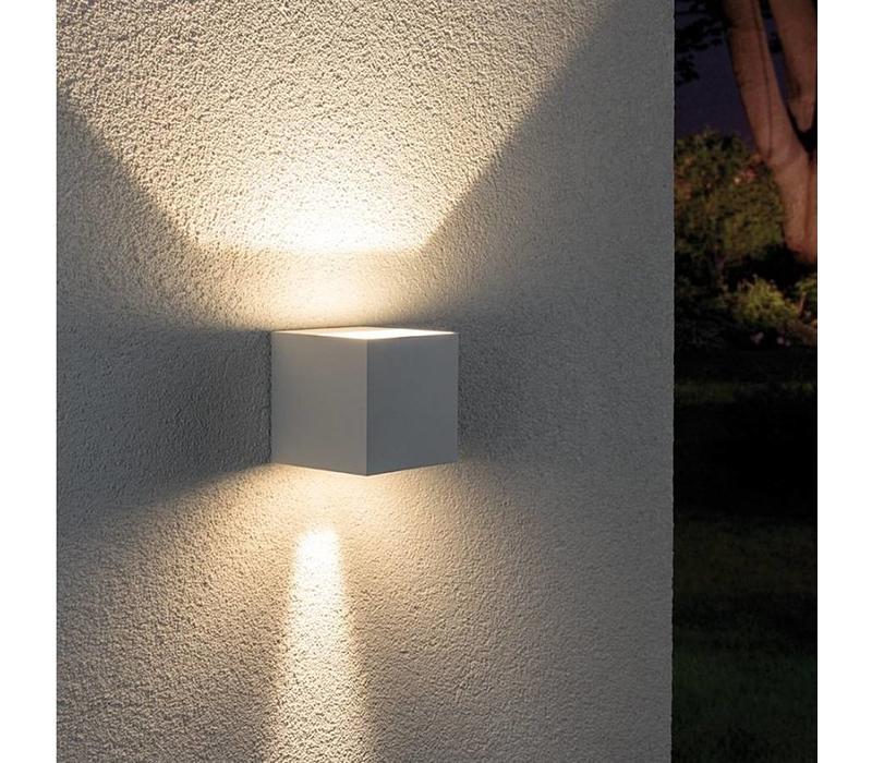 Buitenlamp Cybo LED wit verstelbare bundel
