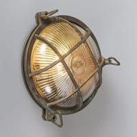 Buitenlamp Titanic rond antiek