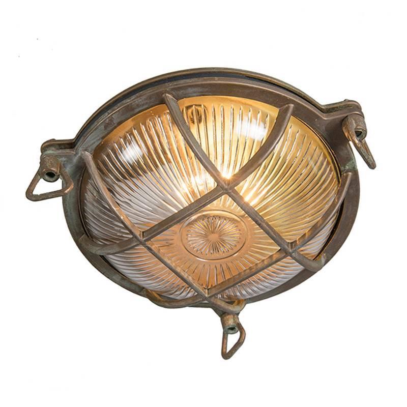 Lamponline Buitenlamp Titanic rond antiek