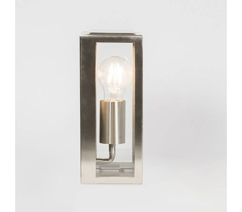 Buitenlamp Blaricum wand klein staal