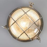 Buitenlamp Titanic rond chroom