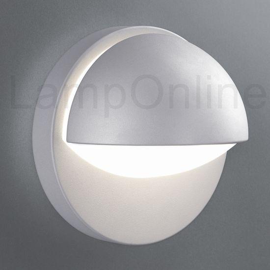 Philips Buitenlamp Reno wand grijs