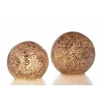 Tafellamp schelp Wangi Gold bol 40 cm