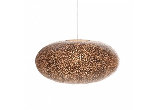 VillaFlor Hanglamp schelp Wangi Gold ufo 60 cm