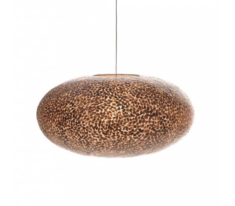 Hanglamp schelp Wangi Gold ufo 60 cm
