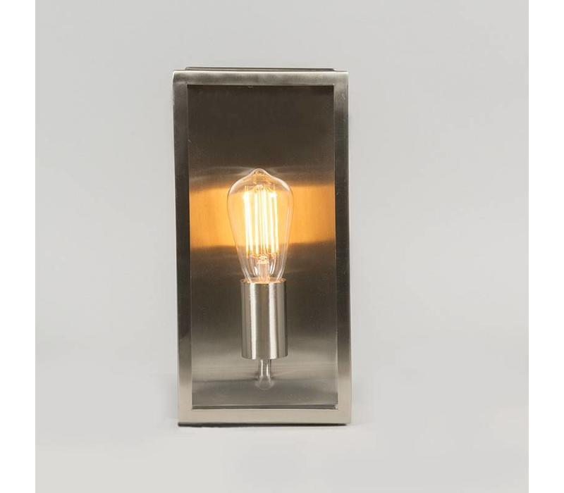 Buitenlamp Blaricum wand medium staal