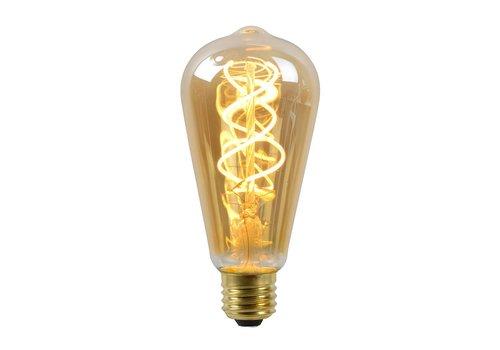 Lucide Lamp LED ST64 5W 260LM 2200K Dimbaar Amber