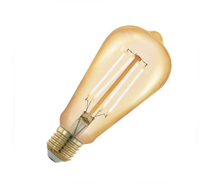 LED E27 lamp groot 4 Watt filament DIM