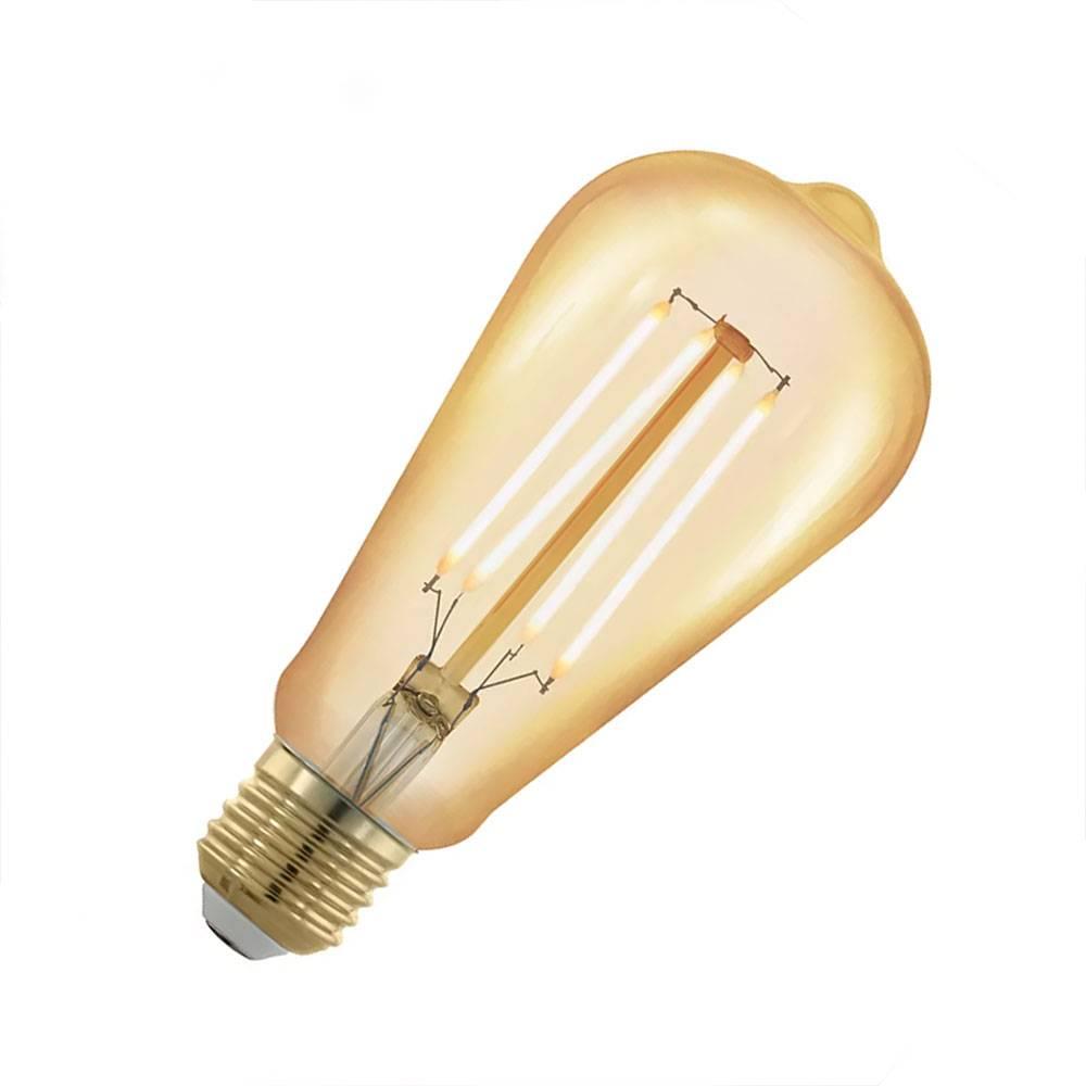 Lichtbron LED-lamp kegel dimbaar, 14,3x 6,4 cm E27 Lichtbron kegel L