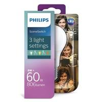 LED E27 lamp 8 Watt Philips SceneSwitch DIM