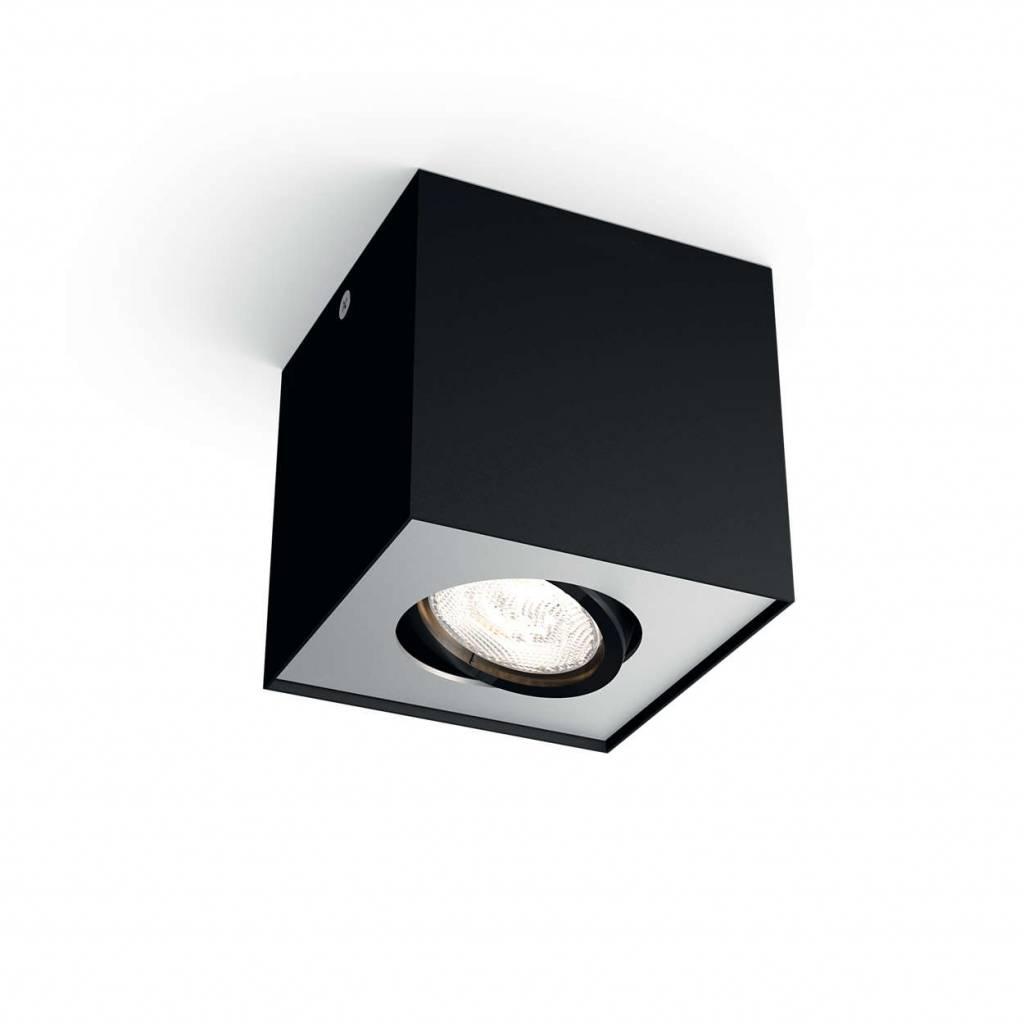 Philips Spot Box 1 lichts zwart