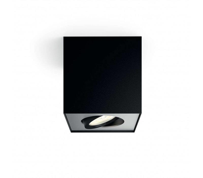 Spot Box 1 lichts zwart