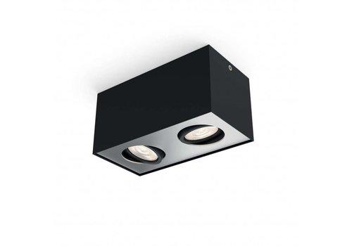 Philips Spot Box 2 lichts zwart