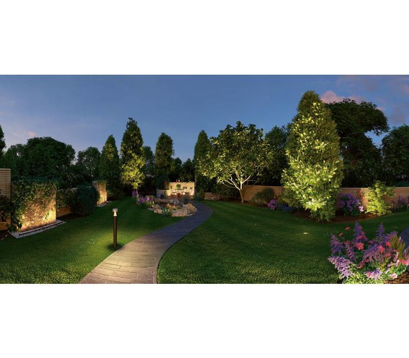 Plug & Shine buitenlamp grondinbouwspot 6 Watt 20° warm wit licht