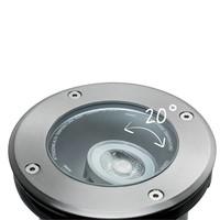 Plug & Shine buitenlamp grondinbouwspot 6 Watt 38° warm wit licht