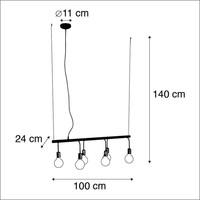 Hanglamp Facile  6  lichts