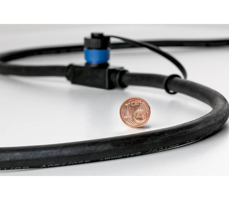 Plug & Shine onderdeel kabel 10 meter met 5 uitgangen